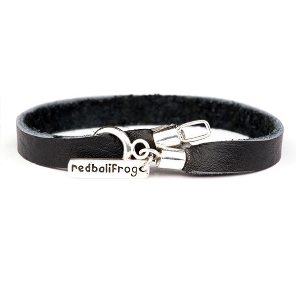 Redbalifrog Leather Strap Bracelet 14cm